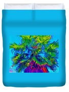 Palmetto Number 3 Duvet Cover