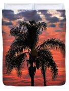 Palmtree Apocalypse Duvet Cover