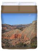 Palo Duro Canyon 021013.282 Duvet Cover