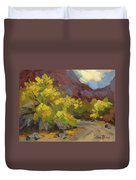 Palo Verde Trees Duvet Cover