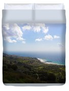 Palos Verdes Peninsula Duvet Cover by Heidi Smith
