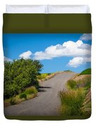Palouse Country Road Duvet Cover