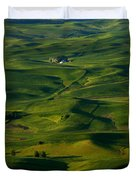 Palouse Green Duvet Cover