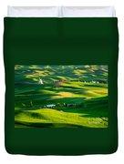 Palouse Green Sea Duvet Cover