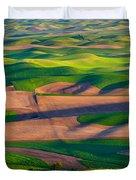 Palouse Ocean Of Wheat Duvet Cover