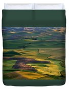 Palouse Shadows Duvet Cover