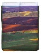Palouse Sunset Duvet Cover