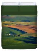 Palouse - Washington - Farms - 1 Duvet Cover by Nikolyn McDonald