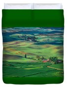 Palouse - Washington - Farms - 4 Duvet Cover