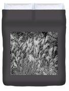 Pampas Grass Monochrome Duvet Cover