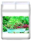 Pan Full Of Color  Digital Paint Duvet Cover