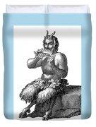 Greek God Pan Duvet Cover