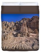 Panaca Formations In Cathedral Gorge State Park Nevada Duvet Cover