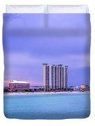Panama City Beach Duvet Cover