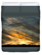 Panamint Sunset Duvet Cover