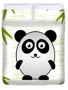 Panda - Animals - Art For Kids Duvet Cover