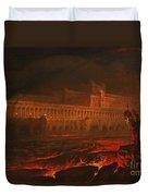 Pandemonium Duvet Cover by John Martin