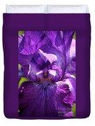 Pandora's Purple Duvet Cover