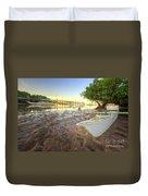 Panglao Port Sunset 4.0 Duvet Cover