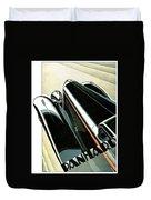 Panhard Car Advertisement Duvet Cover