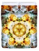 Panorama Carina Nebula Vi Duvet Cover