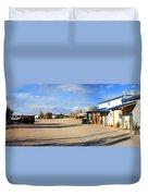 Panorama Cedar Cove Rv Park Street 3 Duvet Cover