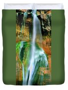 Panorama Lower Calf Creek Falls Escalante Nm Utah Duvet Cover