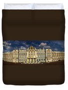 Panorama Of Catherine Palace Duvet Cover by David Smith