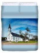 Panorama Of Sts. Cyril And Methodius Catholic Church - Dubina Texas Duvet Cover