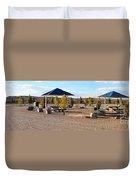 Panorama Outdoor Community Area Duvet Cover