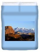 Panorama Point Capitol Reef National Park Utah Duvet Cover