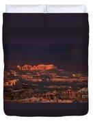 Panorama Rainbow Bryce Canyon National Park Utah Duvet Cover