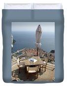 Panorama Restaurant Duvet Cover