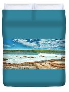 Panoramic Photo Of La Perouse Duvet Cover