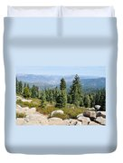 Panoramic Point Duvet Cover