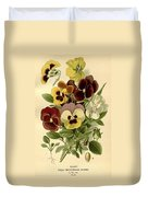 Pansies Duvet Cover by Philip Ralley