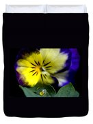 Pansy Close Up Duvet Cover
