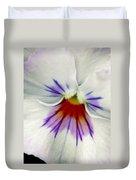 Pansy Flower 11 Duvet Cover