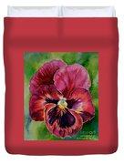 Pansy Play Duvet Cover