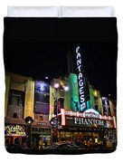 Pantages Theater Duvet Cover