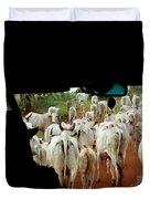 Pantenal Cows Duvet Cover