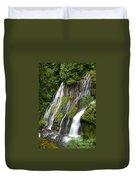 Panther Creek Falls 2- Washington Duvet Cover