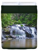 Panther Creek Falls Duvet Cover