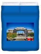 Panthers Stadium Duvet Cover