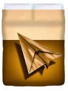 Paper Airplanes Of Wood 1 Duvet Cover