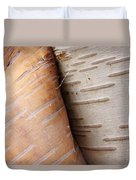 Paper Birch Bark Duvet Cover