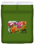 Paper Flower Duvet Cover