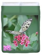 Paper Kite Butterfly - 2 Duvet Cover
