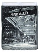 Paper Valley Duvet Cover