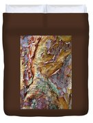 Paperbark Abstract Duvet Cover